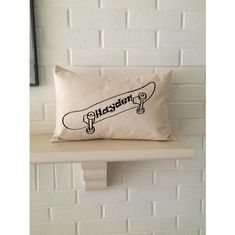 Skateboard art personalized pillow, custom name pillow for gift or yourself! Skateboard Room, Snowboard Girl, Personalized Pillows, Burton Snowboards, Famous Last Words, Snowboarding, Bed Pillows, Pillow Cases, Kids Room