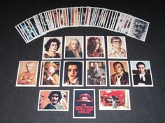 Rocky Horror trading cards