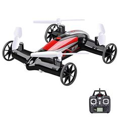 Syma X9S 24G 4CH 6Axis RC Fly Car Quadcopter Drone AirLand Dual Headless Mode Christmas Gift for 14 years ChildBlack ** You can get more details by clicking on the image-affiliate link. #ChristmasGiftsForMen