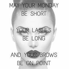 Short Mondays, life quote, makeup