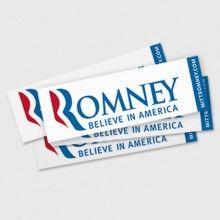 Believe In America Bumper Sticker
