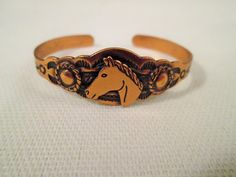 Copper Cuff Bracelet Child's/Bell Trading by VintageBADTIQUE