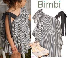 Visteles: BIMBI MODA INFANTIL PRIMAVERA-VERANO 2014.