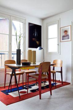Interiores Caroline Wiart diseño de mediados del siglo