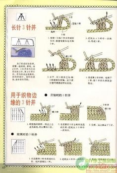 Patrones Crochet: Como Leer o Interpretar Simbolos Crochet Español