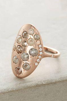 Anthropologie Diamond Galaxy Ring