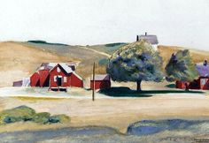 South Truro Post Office, Edward Hopper, s.d.