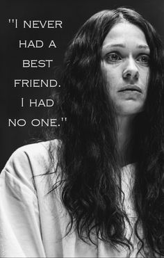 """I never had a best friend. I had no one."" -Eurus Holmes"