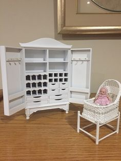 Miniatures, Bed, Table, Furniture, Home Decor, Decoration Home, Stream Bed, Room Decor, Tables