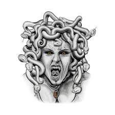 medusa by asussman on DeviantArt Medusa Tattoo Design, Tattoo Design Drawings, Tattoo Sketches, Medusa Drawing, Medusa Art, Head Tattoos, Sleeve Tattoos, Ink Tattoos, Medusa Images