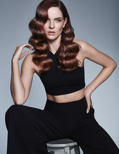 Looking for long hair inspiration? Big, bouncy curls will instantly add glamour to your long hairstyle. From Francesco Group's 2016 Collection. Bouncy Curls, Hair Color And Cut, New Hair, Hair Inspiration, Wedding Hairstyles, Hair Cuts, Glamour, Long Hair Styles, Creative