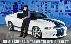 SHELBY GT350 with Mr. Shelby himself