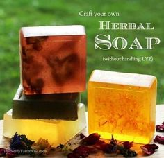 How To Make Herbal Soap Without Lye | Health & Natural Living