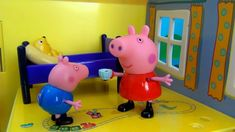 Peppa Pig in English. Peppa Pig tells a fairy tale to her brother George...