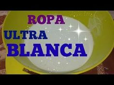Ropa Super blanca , Detergente super potente quita la mugre, manchas y blanquea la ropa amarillenta - YouTube Diy Cleaning Products, Cleaning Hacks, Odor Remover, Laundry Hacks, Natural Beauty Tips, Fresh And Clean, Home Hacks, Diy Projects To Try, Healthy Tips