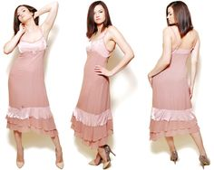 I present you with a pink, bohemian coctail dress size: M/ 38, made in China by Whistles. The model on the pictures is size S/36 and 165 cm height.  The measurements of the dress were taken on a flat surface without stretching, please check them with your own measurements to avoid problems with the size:  Label size: M/ 38, Max. lenght (with straps): 123 cm / 48.4 inches Min. lenght (without straps): 106.5 cm / 41.9 inches Straps lenght: 16 cm / 6.3 inches Armpit...
