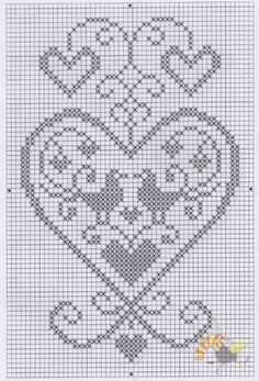 Designing Your Own Cross Stitch Embroidery Patterns - Embr Cross Stitch Heart, Cross Stitch Cards, Simple Cross Stitch, Cross Stitch Embroidery, Crochet Patterns Filet, Crochet Motif, Embroidery Patterns, Cross Stitch Designs, Cross Stitch Patterns