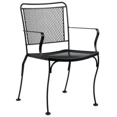 Woodard Constantine Outdoor Stackable Dining Arm Chair