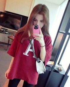 TC002019 Long sleeve tops Korean style bottoming shirt for women