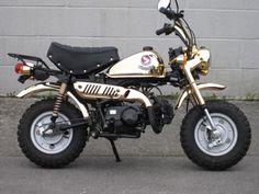 Honda Z50JZ - Gold Edition. #Honda Monkey #Z50