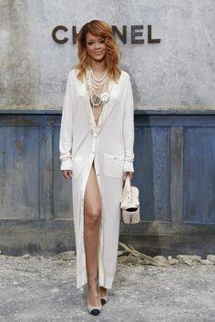 Rihanna channel dress 2014