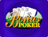 This casino software provider offers a great amount of video poker casino games among which players will meet #Bonus #Poker game. Compulsive gamblers have already estimated it thanks to the top-quality design and big money prizes
