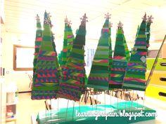 Christmas trees craft