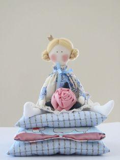 Lovely cloth doll Fairy tale doll Princess by HappyDollsByLesya, $39.50