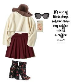 """Untitled #34"" by aisharch on Polyvore featuring Hollister Co., Uniqlo, N'Damus and Gucci"