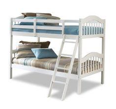 Stork Craft Long Horn Bunk Bed White ** Visit the image link more details.