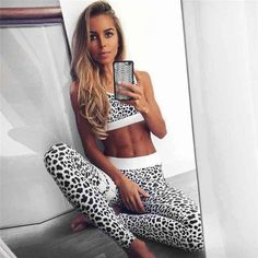 b8262a44b2 for beginners ♡ Women s Workout Clothes Yoga Tops Sports Bra Yoga Pants  Motivation is here! Fitness Apparel Express Workout Clothes for Women