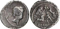 NumisBids: Numismatica Varesi s.a.s. Auction 65, Lot 77 : LIVINEIA - L. Livineius Regulus (42 a.C.) Denario. B. 12 Syd....