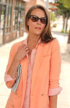 Penny Pincher Fashion: Peachy Keen