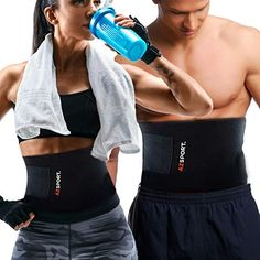 0d43ed216b8 AZSPORT Waist Trimmer – Adjustable Ab Sauna Belt to shed The Excess Water