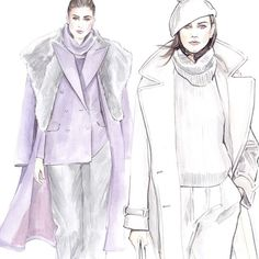 #Inspiration - Ralph Lauren Fall Winter 2014-15 #Lena Ker