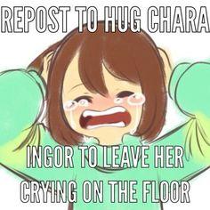 Hug her