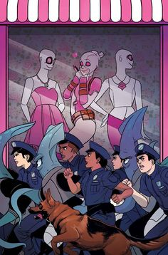 Gwenpool #8 by Stacey Lee *