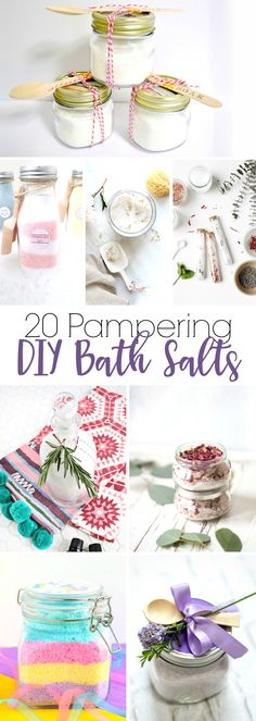 20 Pampering DIY Bath Salts | Yesterday On Tuesday