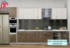 Những mẫu tủ bếp giúp phòng bếp rộng hơn