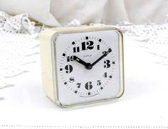 Working Vintage Mid Century Kiple Mechanical Alarm Clock from Eastern European, Czechoslovakia, Wind-up Clock, Retro, Vintage, Home, Time by VintageDecorFrancais on Etsy