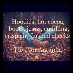 Soooooo ready for fall!!