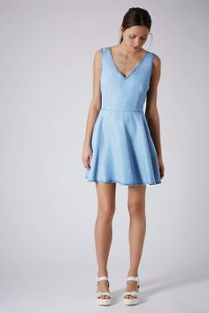 MOTO Fit and Flare Dress - Dresses - Clothing - Topshop