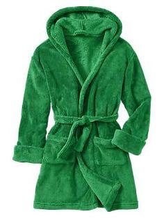Hooded robe | Gap