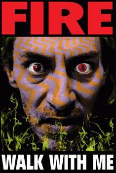 Frank Kozik TWIN PEAKS poster!!! #BOB #Fire Walk With Me
