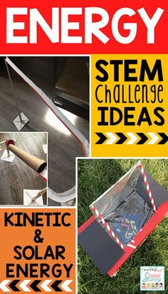 Energy STEM Challenges - Earth Science Introduction Awareness inside world scientific disciplines is incredibly vital Science Lesson Plans, Science Resources, Science Lessons, Science Education, Life Science, Science Experiments, Teaching Science, 6th Grade Activities, Stem Activities