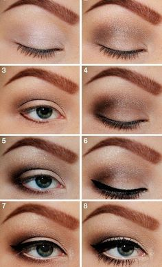 Smoky Eyes Makeup Tutorials: Smoky Brown