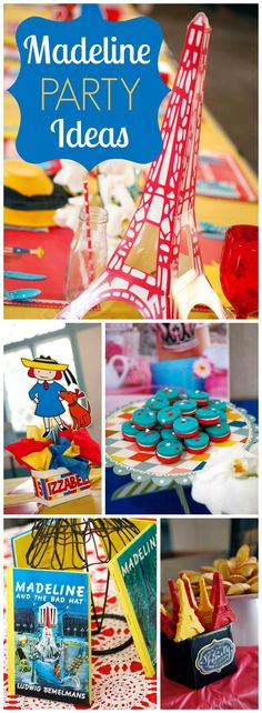 Madeline heads to Paris for this fun birthday party!  See more party ideas at CatchMyParty.com!