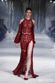 20 Looks of Incredible Dresses by Paolo Sebastian glamhere.com Paolo Sebastian 2016 AW Couture