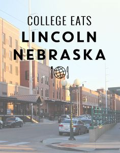 Lincoln Nebraska Eats - A food guide perfect for college students at University of Nebraska! From @thecollaboreat