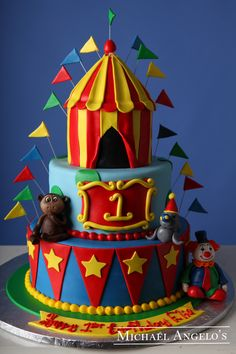 circus themed baby shower cake - Google Search | E baby shower | Pinterest | Photos Themed baby showers and Circus cakes & circus themed baby shower cake - Google Search | E baby shower ...